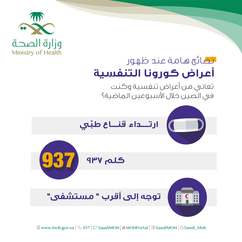 كم عدد المصابين بفيروس كورونا في السعوديه