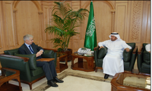 HE Minister of Health Hosts the British Ambassador