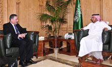 Minister of Health Receives the Belgian Ambassador