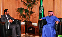 His Excellency the Minister of Health Meets with the Ambassador of Djibouti