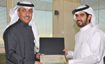 Al-Duweila Honors Director of Nutrition Department at KFH in Taif for Donating Part of His Liver