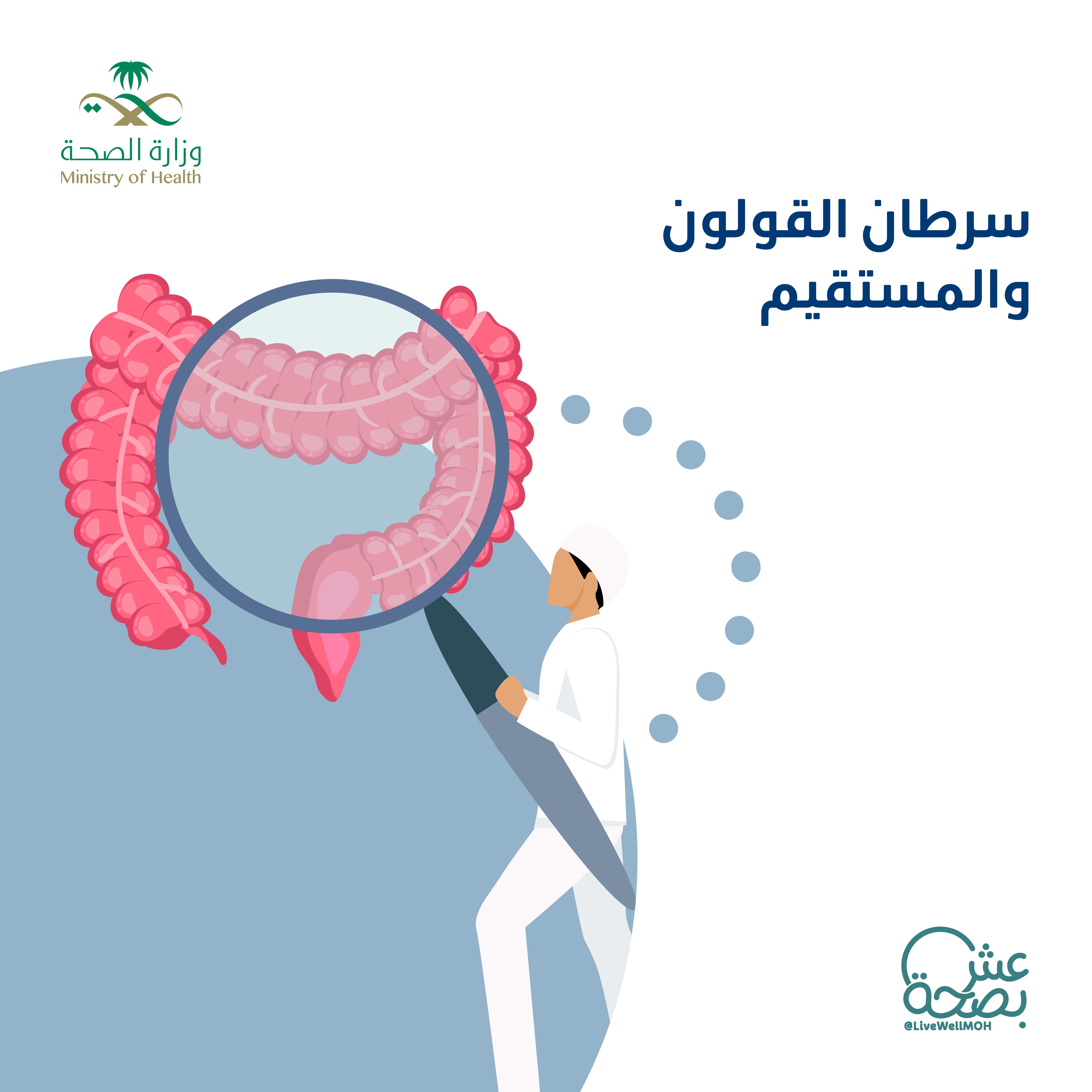 الأمراض المزمنة سرطان القولون والمستقيم