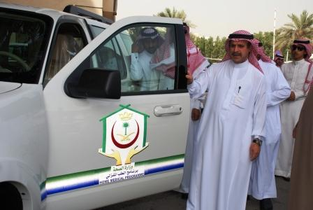 Dr. Al Hawasi: Inaugurates the First Batch of Domestic Medicine Program Vehicles