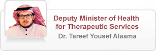 Deputy Minister of Health for Therapeutic Services