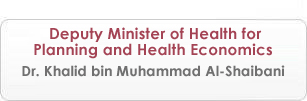 Deputy Minister of Health for Planning and Health Economics